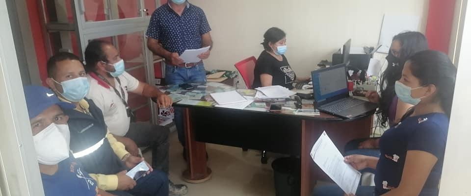 LAS FUERZAS POLITICAS, SOCIALES DE LA PARROQUIA SOLICITAN AL COE CANTONAL DECLAREN EMERGENCIA SANITARIA EN LA PARROQUIA.